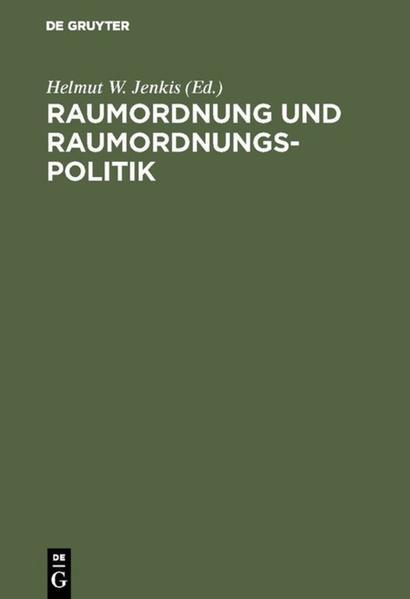 Raumordnung und Raumordnungspolitik - Coverbild