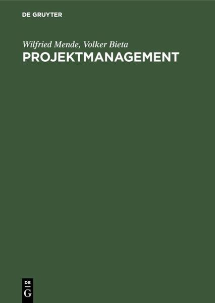 Projektmanagement - Coverbild