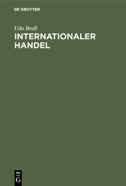 Internationaler Handel - Coverbild
