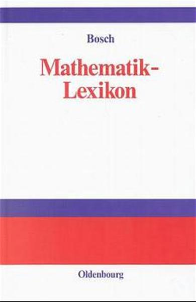 Mathematik-Lexikon - Coverbild