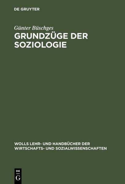 Grundzüge der Soziologie - Coverbild