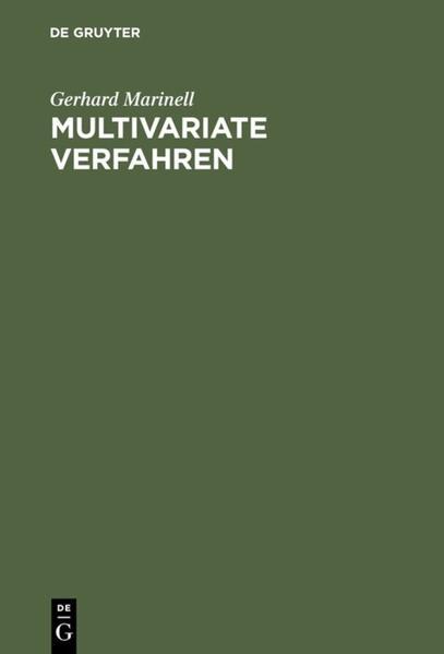 Multivariate Verfahren - Coverbild