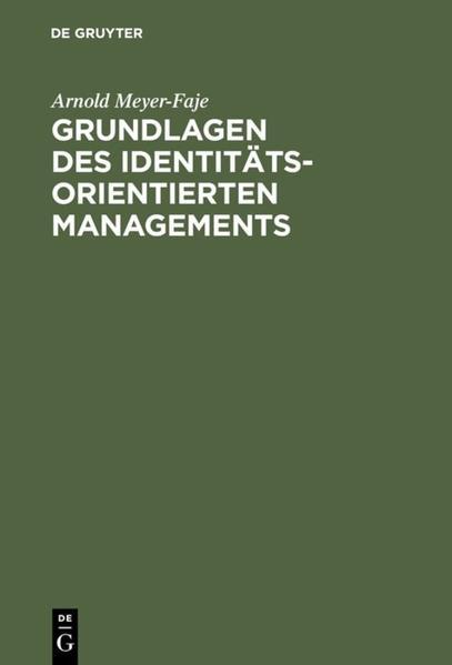 Grundlagen des Identitätsorientierten Managements - Coverbild