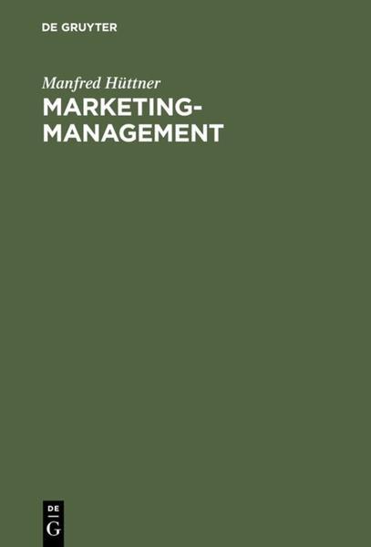 Marketing-Management - Coverbild