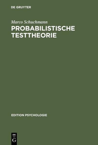 Probabilistische Testtheorie - Coverbild