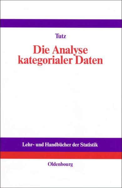 Die Analyse kategorialer Daten - Coverbild