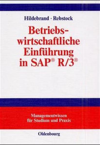 Betriebswirtschaftliche Einführung in SAP® R/3®  - Coverbild