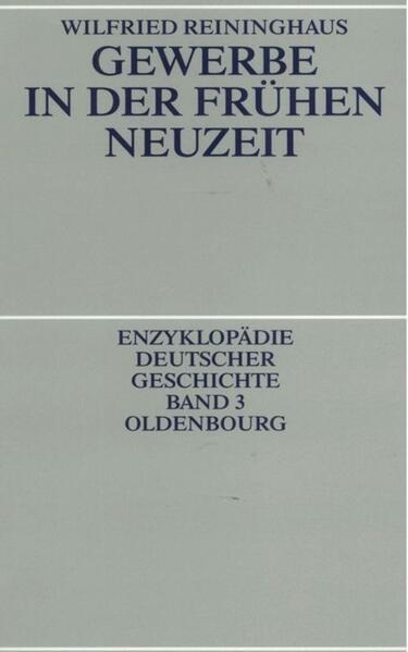 Gewerbe in der Frühen Neuzeit - Coverbild