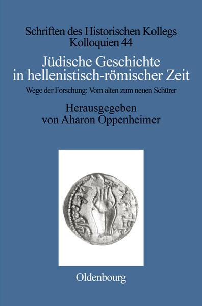 Jüdische Geschichte in hellenistisch-römischer Zeit - Coverbild
