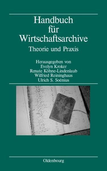 Handbuch für Wirtschaftsarchive - Coverbild