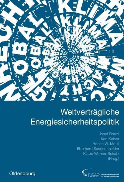 Jahrbuch internationale Politik / Weltverträgliche Energiesicherheitspolitik - Coverbild