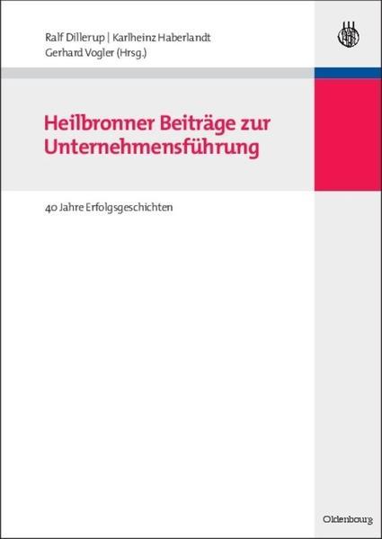Heilbronner Beiträge zur Unternehmensführung - Coverbild