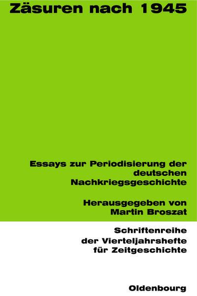 Zäsuren nach 1945 - Coverbild