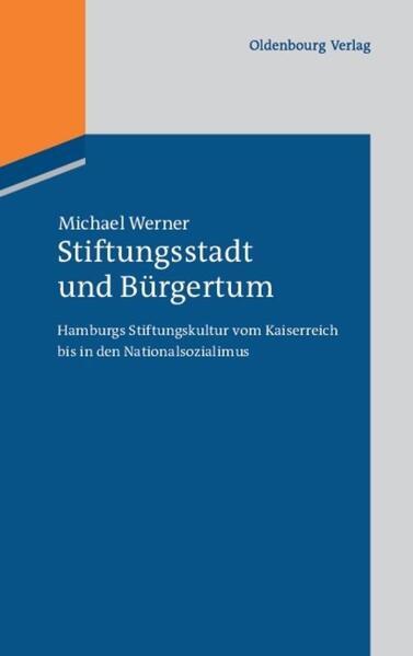 Stiftungsstadt und Bürgertum - Coverbild