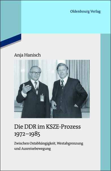 Die DDR im KSZE-Prozess 1972-1985 - Coverbild
