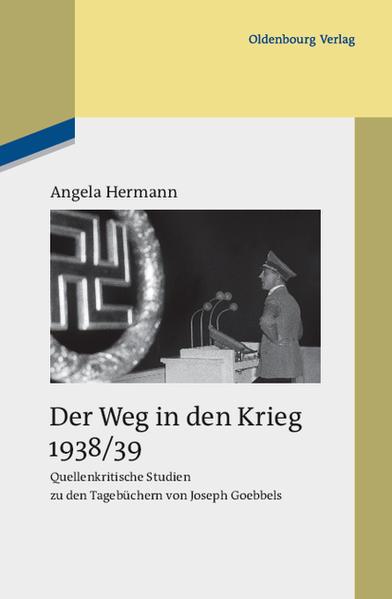 Der Weg in den Krieg 1938/39 - Coverbild
