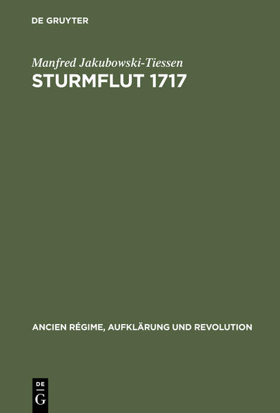 Sturmflut 1717 - Coverbild
