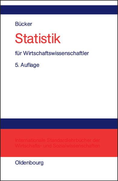 Statistik für Wirtschaftswissenschaftler - Coverbild