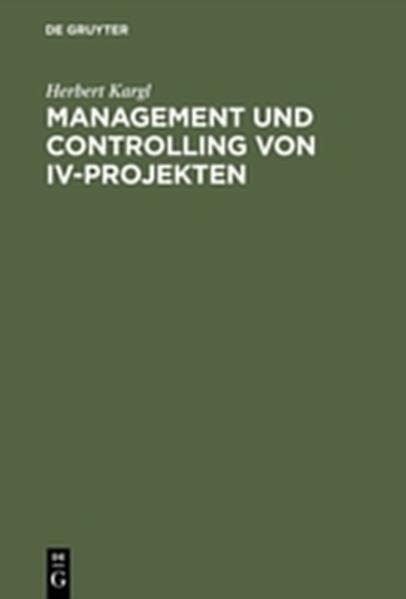 Management und Controlling von IV-Projekten - Coverbild