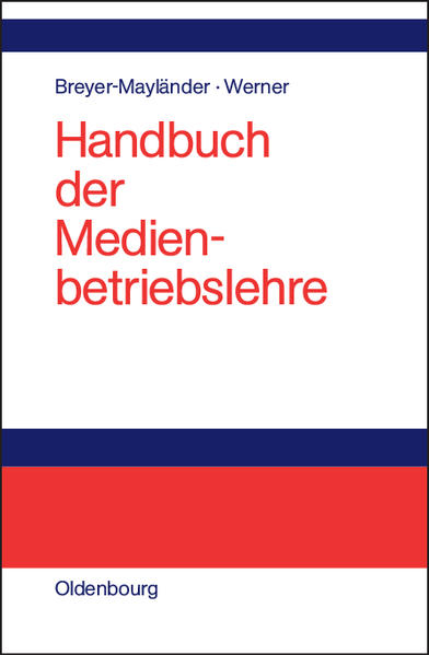 Handbuch der Medienbetriebslehre - Coverbild