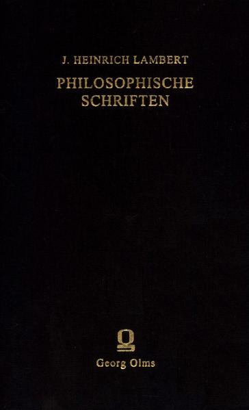Philosophische Schriften - Coverbild
