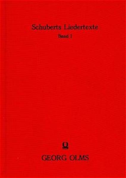 Die Texte seiner einstimmig und mehrstimmig komponierten Lieder und ihre Dichter - Coverbild