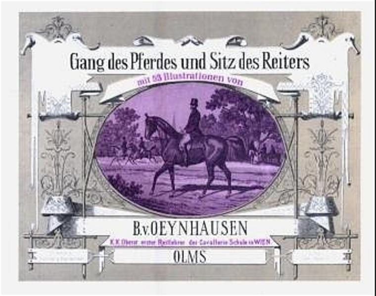Gang des Pferdes und Sitz des Reiters - Coverbild