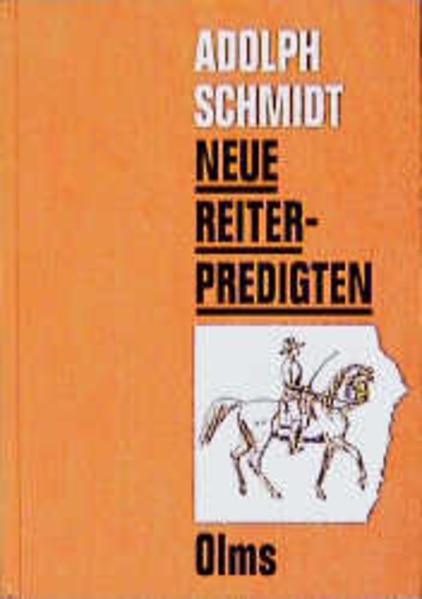 Neue Reiterpredigten - Coverbild