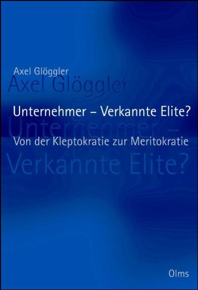 Unternehmer - Verkannte Elite? - Coverbild