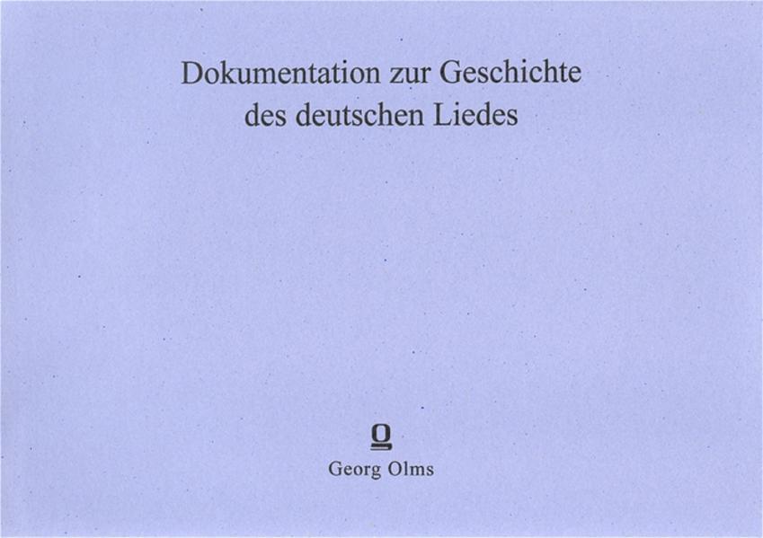 Oden von Klopstock - Coverbild