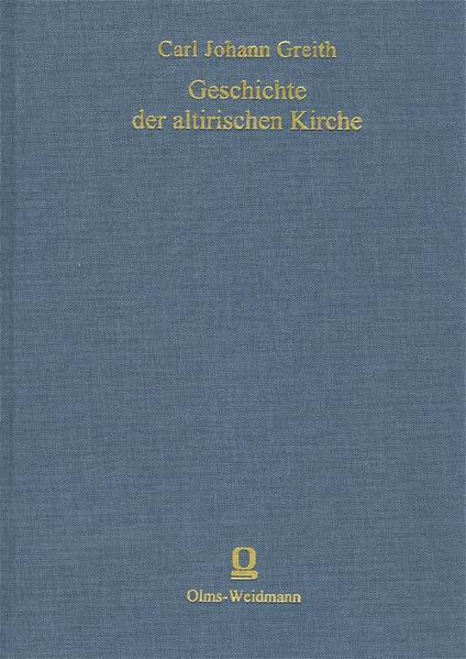 Geschichte der altirischen Kirche - Coverbild