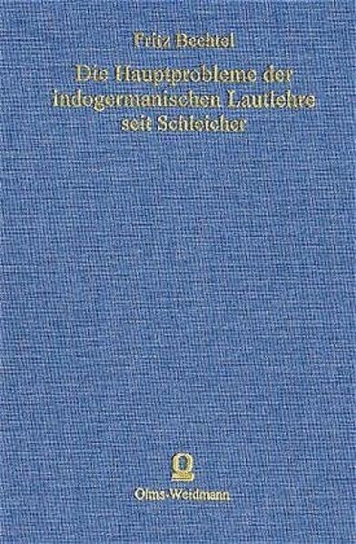 Die Hauptprobleme der indogermanischen Lautlehre seit Schleicher - Coverbild