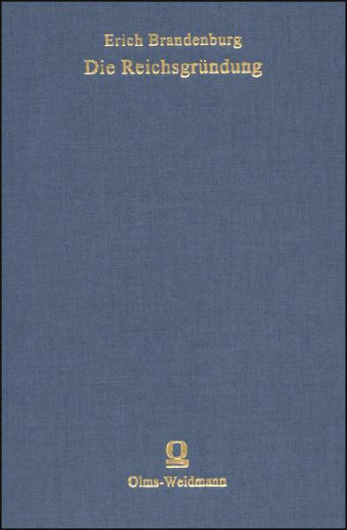Die Reichsgründung - Coverbild