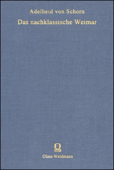Das nachklassische Weimar - Coverbild