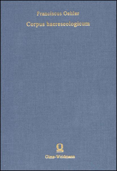Corpus haereseologicum - Coverbild