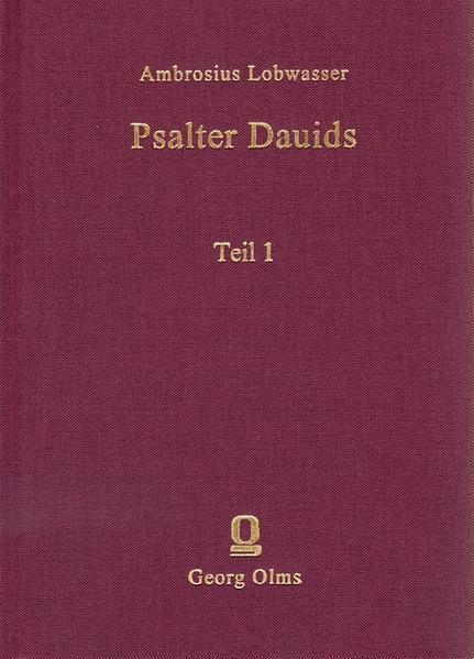 Der Psalter deß Königlichen Propheten Dauids - Coverbild
