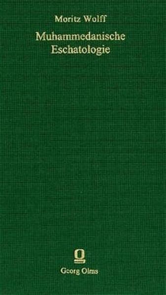 Muhammedanische Eschatologie - Coverbild