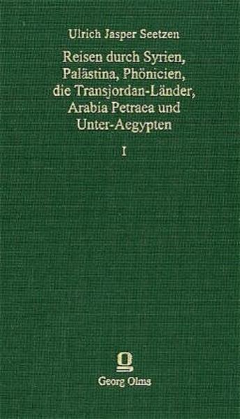 Reisen durch Syrien, Palästina, Phönicien, die Transjordan-Länder, Arabia Petraea und Unter-Ägypten - Coverbild