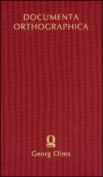 Die Bemühungen um eine Reform der deutschen Orthographie in der zweiten Hälfte des 18. Jahrhunderts - Coverbild