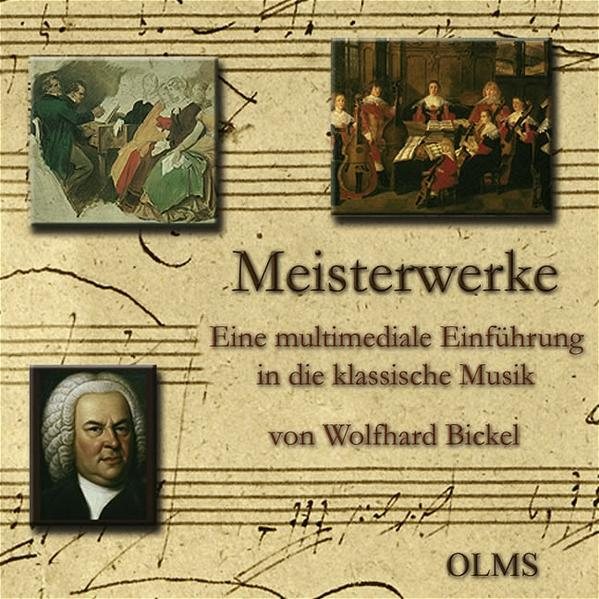 Meisterwerke - Eine multimediale Einführung in die klassische Musik - Coverbild