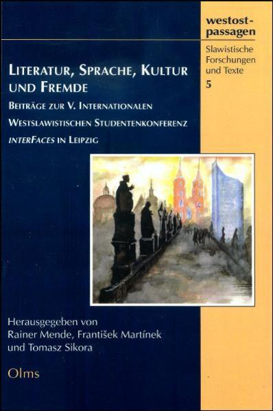 Literatur, Sprache, Kultur und Fremde - Coverbild