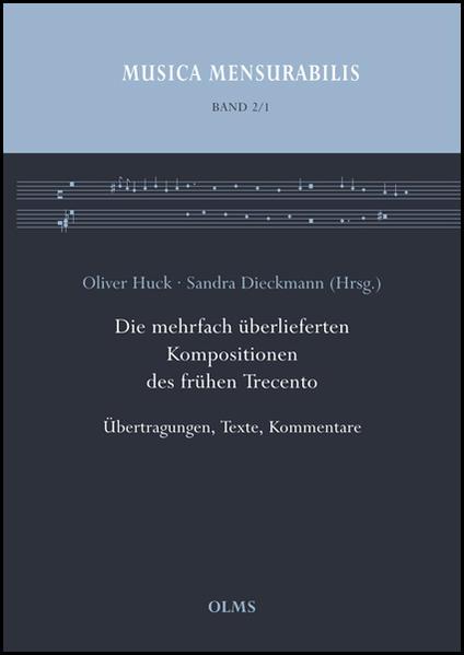 Die mehrfach überlieferten Kompositionen des frühen Trecento - Coverbild
