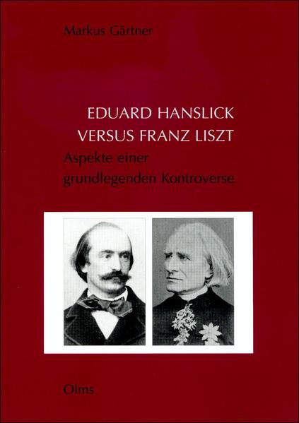 Eduard Hanslick versus Franz Liszt - Coverbild