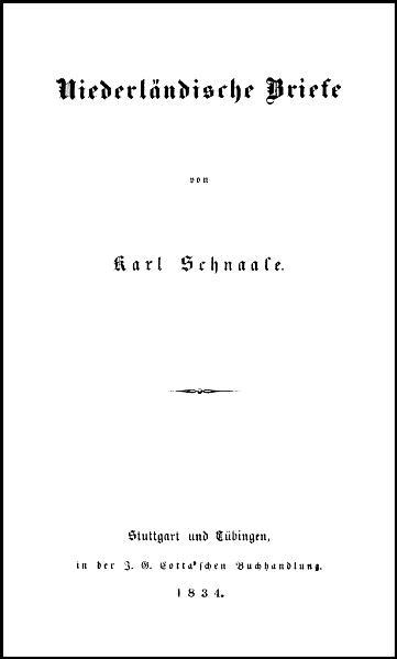 Niederländische Briefe - Coverbild