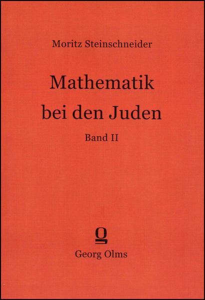 Mathematik bei den Juden - Coverbild