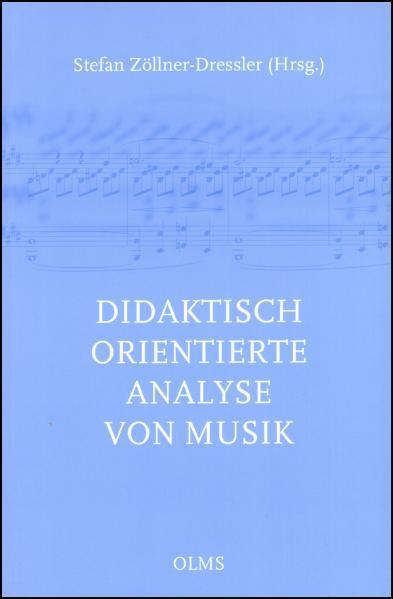 Didaktisch orientierte Analyse von Musik - Coverbild