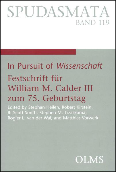 In Pursuit of Wissenschaft - Coverbild