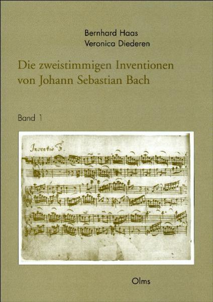 Die zweistimmigen Inventionen von Johann Sebastian Bach - Coverbild