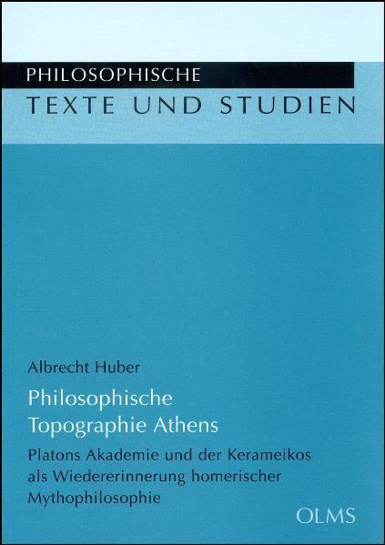 Philosophische Topographie Athens - Coverbild
