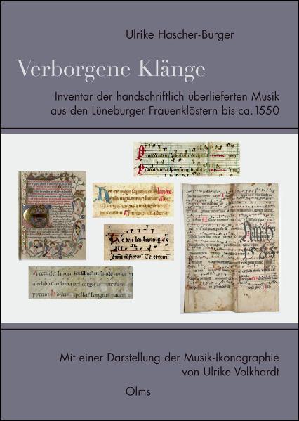 Verborgene Klänge. Inventar der handschriftlich überlieferten Musik aus den Lüneburger Frauenklöstern bis ca. 1550 - Coverbild